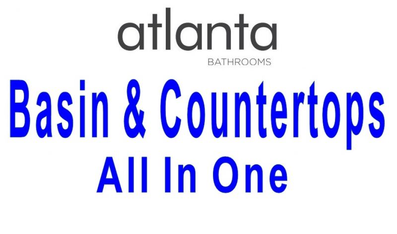 All-In-One Basin & Countertops