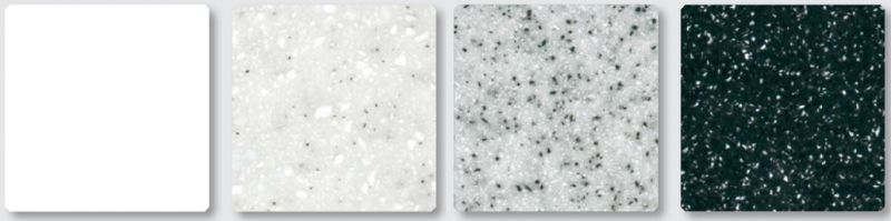 12mm Solid Surface Worktops by Atlanta