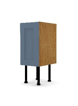 BASE UNIT SINGLE DOOR for 250 or 150mm plinth