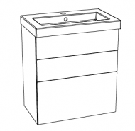 Editions Basin Unit (With Drawers)
