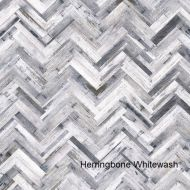 Herringbone Whitewash