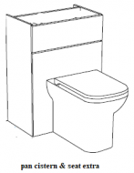 Atlanta WC Unit (no cistern) price group 4