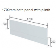 CAPELLA WHITE BATH PANEL