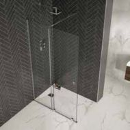 Rolla 8 Sliding Wetroom (Silver)