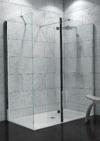 Wetroom Panels 8mm Glass silver (Saneux)