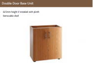 DOUBLE DOOR BASE UNIT