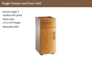 SINGLE DOOR & DRAWER UNIT