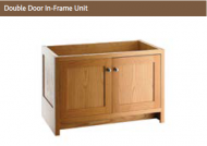 DOUBLE DOOR IN-FRAME UNIT 730mm high