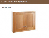 IN FRAME DOUBLE DOOR WALL CABINET