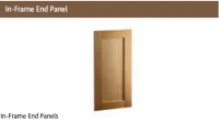 IN FRAME END PANEL (for exposed ends)