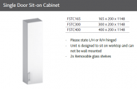 SINGLE DOOR  SIT-ON CABINET