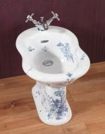 Victorian Decorated Garden Bidet