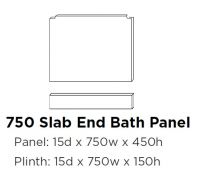 Elation Bath End Panel